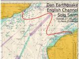 Dan Earthquake becomes a Channel Swimmer