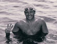 First 3-way Channel Swim