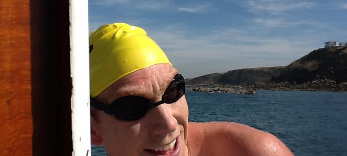 New English Channel Swimming record by Australia's Trent Grimsey