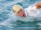 Samuel Neri swims the Channel