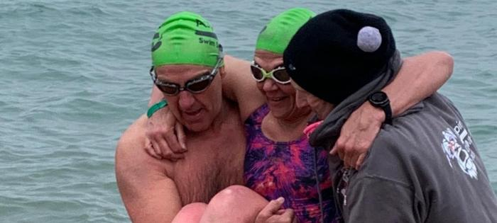 Paralysed Wheelchair User to Swim Channel Relay