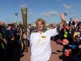 Olympic Torch relay with Channel Swimmers