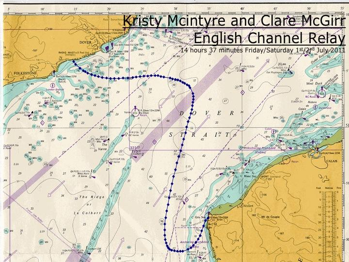 Channel Swimming & Piloting Federation - The Swim Route on map of europe england, map of english airports, map of uk, map of red sea crossing,