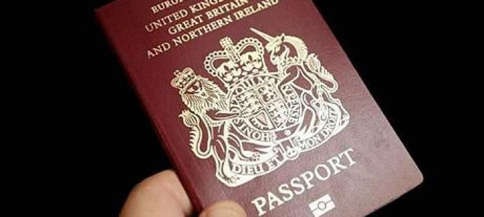 Don't forget your passport!