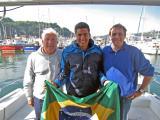 Adriano Passini swims the Channel