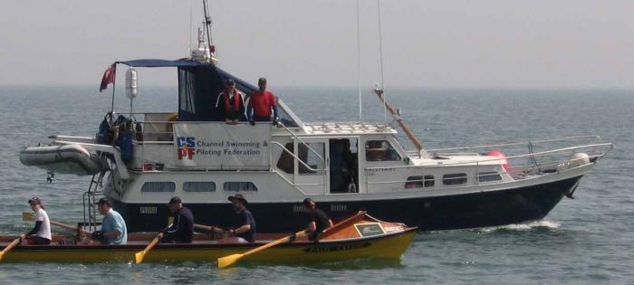 Escort boat Gallivant