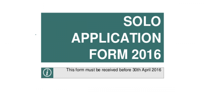 2016 Application Forms